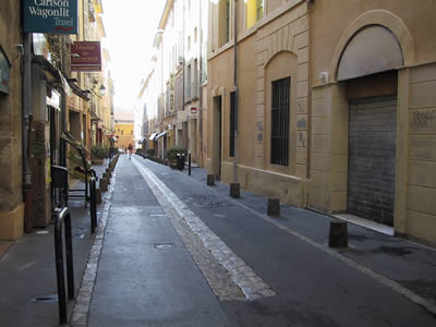 Plan De Aix En Provence Centre Ville