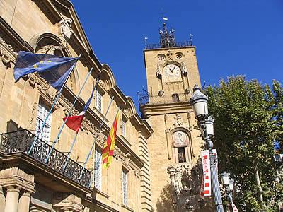 Place de l 39 h tel de ville - Bureau de poste rotonde aix en provence ...