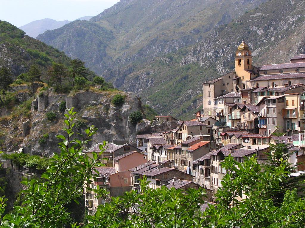 Fond Ecran Provence : Fond d'écran et photo de Saorge, village des ...