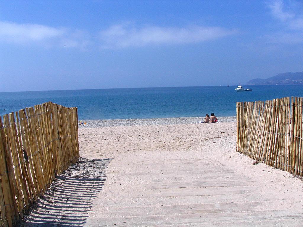 Fonds d'Ecran - Sur le chemin de la plage - Var - Photo