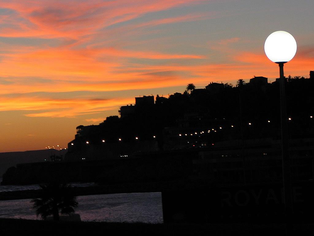 Fond d 39 ecran coucher de soleil photos provence - Coucher de soleil marseille ...