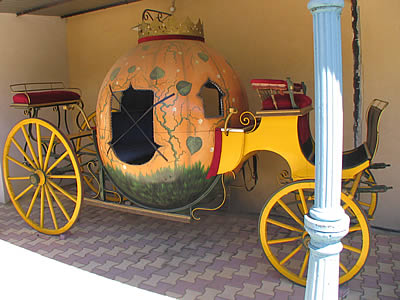 Carrosse de cendrillon photo presentation provence - Cendrillon et son carrosse ...