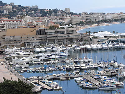 Port de cannes photo presentation provence - Port de cannes capitainerie ...