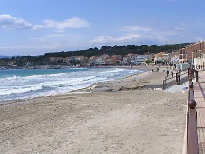Plage de saint cyr sur mer - Office tourisme st cyr sur mer ...