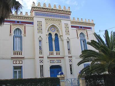 Villa tunisienne photo hy res for Maison de senteur tunisie adresse
